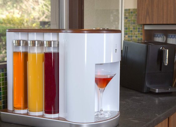 Craft Custom Cocktails With The Somabar Robotic Bartender - Supercompressor.com