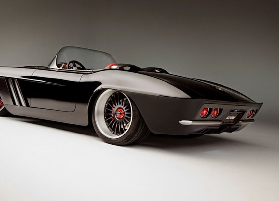Modern Day Custom Carbon Fibre Corvette