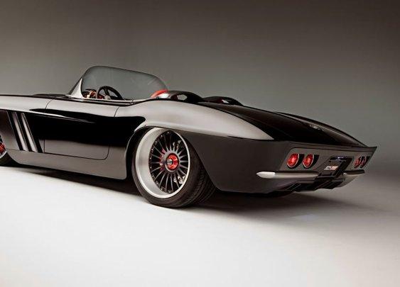 Modern Day Custom Carbon Fibre Corvette