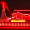 Incredible 'Star Wars' Christmas light show
