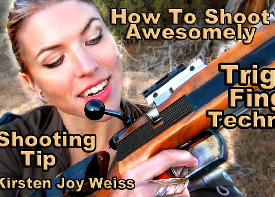 Trigger Finger Technique - From Pro Shooter Kirsten Joy Weiss