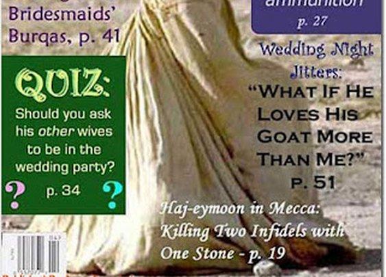 Jihad Bride Magazine- Joke of the day   Opinion - Conservative