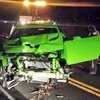 2015 Dodge Challenger SRT Hellcat Crashes In Colorado