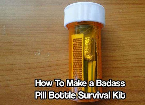 How To Make A Pill Bottle Survival Kit - SHTF & Prepping Central