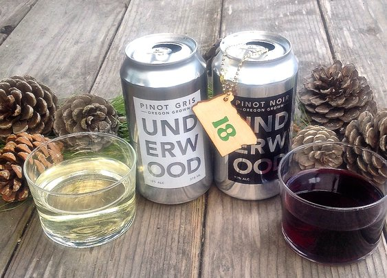 Union Wine Co. Underwood Pinot in a Can