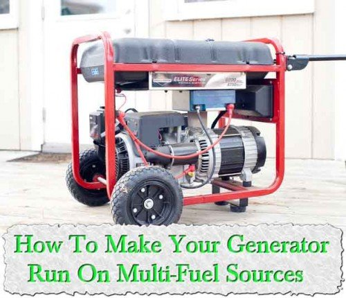 how to make your generator run on multi fuel sources