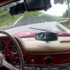 Mercedes-Benz 300 SL Driven Flat-Out On Mountain Hillclimb Is Pure White-Knuckled Amazing