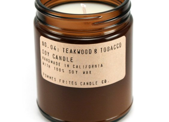 Teakwood & Tobacco Candle — P.F. Candle Co.
