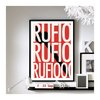 "Hook ('Rufio') - 11"" x 17"" wall art"