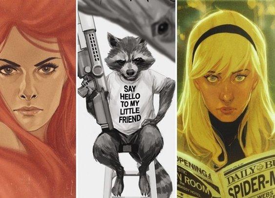 Phil Noto's Stunning Marvel Variant Covers Revealed