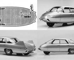 Pininfarina's aerodynamic 1960 X Concept was 50 years ahead of its time