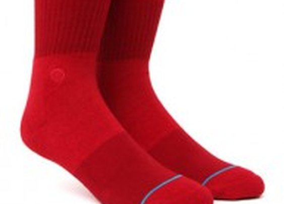 Red socks, not just for Valentine's Day...