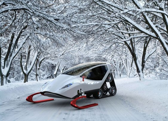 Snow Crawler is the Lamborghini of Snowmobiles | SkiGeorgia