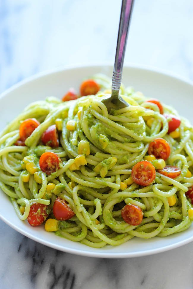 Паста вегетарианская рецепт с фото