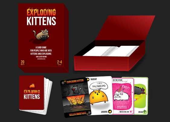 Exploding Kittens Card Game | The Coolector