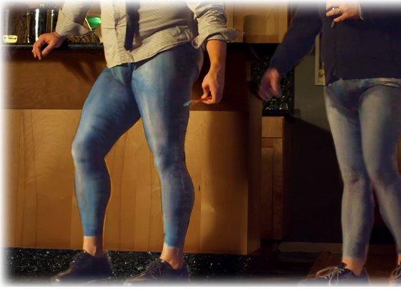 Skinny Jeans - DeEvolution of Man