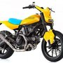 Deus Ex Machina revealed at Motor Bike Expo 2015 show in Verona the first Deus built on a Ducati Scrambler.