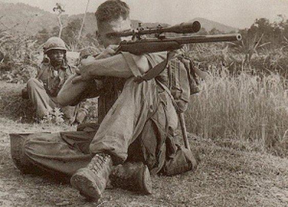 The 'American Sniper' of the Vietnam War