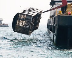 Subways Dumped In The Ocean | This is Fly Daily