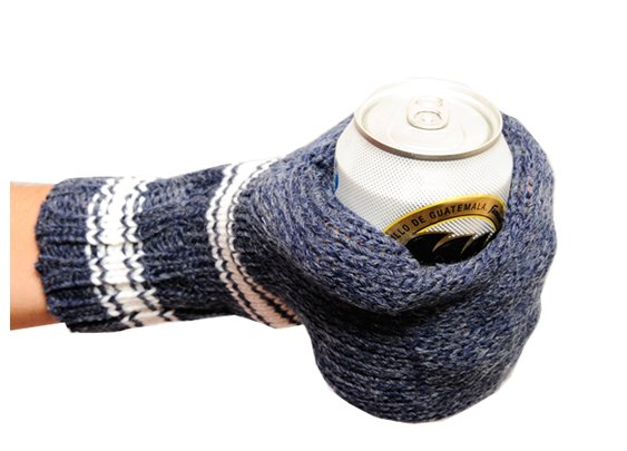 Suzy Kuzy Knitted Beer Mitts | The Coolector