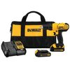 DEWALT 20-Volt Max Lithium-Ion Cordless Drill/Driver Kit-DCD771C2 - The Home Depot