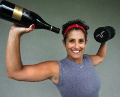 No more need to go to the gym. Just drink red wine. Yeah right.