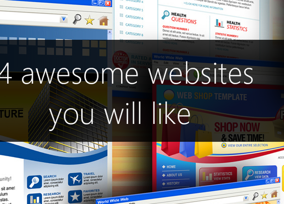14 awesome websites you will like