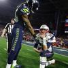Sherman/Brady defining photo of Super Bowl XLIX   Shutdown Corner - Yahoo Sports
