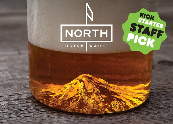 Mt. Hood, Oregon Pint Glass