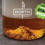 Mt. Hood, Oregon Pint Glass