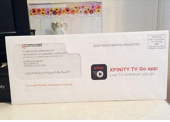 Comcast calls customer 'Super B----' on bill - Feb. 6, 2015