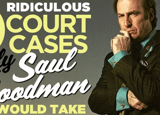 Distractify | 25 Ridiculous Court Cases Only Saul Goodman Would Take