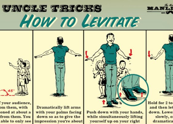 How to Levitate Like a Magician | The Art of Manliness