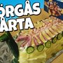 Swedish Chef Creates a Smörgåstårta, A Giant Sandwich Cake Shaped Like a Fierce Viking Ship