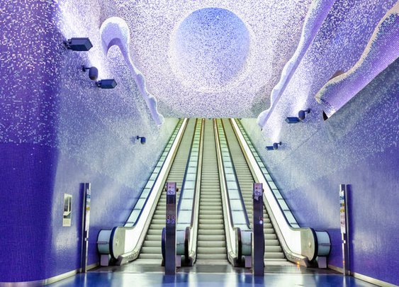 The Coolest Subway Stations In The World