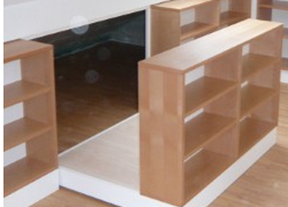 hidden storage behind bookcase stashvault