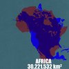 How Maps Distort Country Size