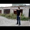 Bulletproof helmet testing Putin style :)