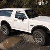 UNIQUE 6.2L 1993 Ford Bronco Raptor Frame, Engine, Interior