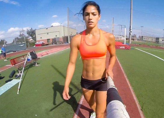 GoPro Pole Vaulting with Allison Stokke «TwistedSifter