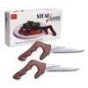 Steak Saws - Set of 4 Steak Knives by DCI (Decor Craft Inc.) - Whimsical & Unique Gift Ideas for the Coolest Gift Givers