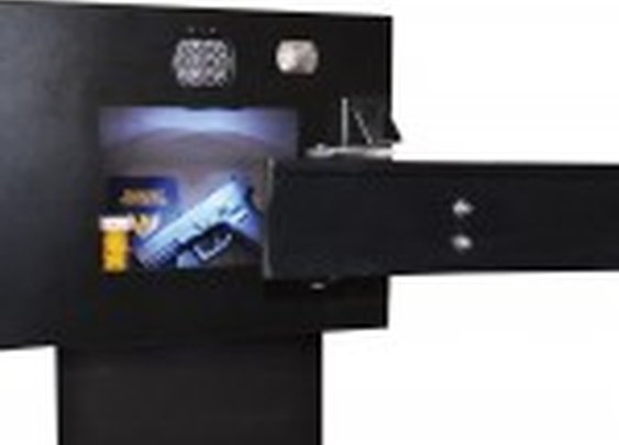 TV Wall Mount Hidden Compartment Safe | StashVault