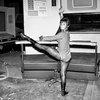 Uhura Ballet in Behind-the-Scenes STAR TREK Photos ~ The Geek Twins