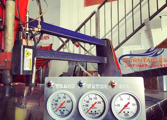 Create custom gauge panels with a CNC BurnTables Plasma Table and Engraver