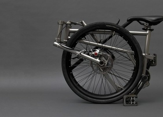 Helix bike is claimed to fold smaller than any other
