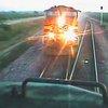 Near Head-On Collision Of BNSF Freight Trains! - Train Fanatics