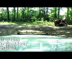 Lawn Mower DUI Taser Arrest