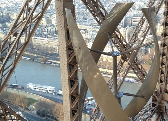 Eiffel tower embraces wind power | Environment | The Guardian