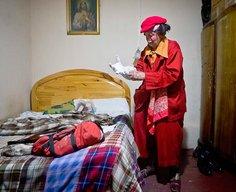 The oldest clown in Peru