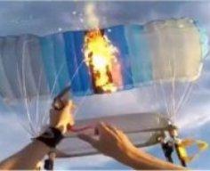 Parachute vs. FlareGun